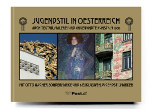 Buchgestaltung Cover Jugendstil in Österreich