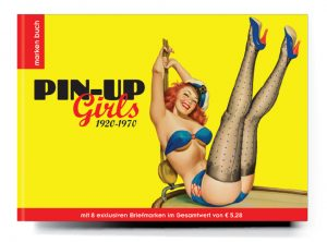 Buchgestaltung Cover PIN UP Girls