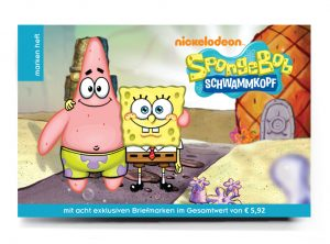Buchgestaltung Cover Sponge Bob