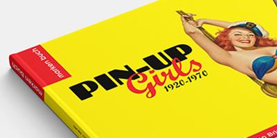 Buchgestaltung Markenbuch PIN-UP-Girls