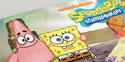Buchgestaltung-Markenbuch-Sponge-Bob