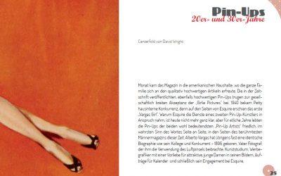 Buchprojekt Pin-Up-Girls - Beispielseiten 02