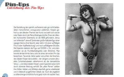 Buchprojekt Pin-Up-Girls Entstehung