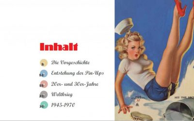 Buchprojekt Pin-Up-Girls - Inhalt