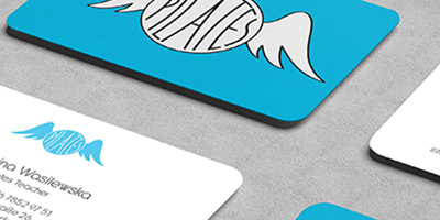 Corporate Design: Logos und Visitenkarten-Pilatesengel