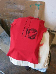 Gefühle hautnah - 2 Wut Siebdruck Shirt