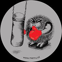 Gefühle hautnah - 2 Wut Sticker