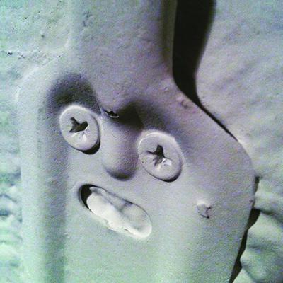 Kunstprojekte: Dinge mit Gesicht - Haken