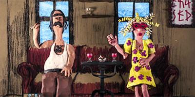 Kunstprojekte: Stop Motion- Johnny und Sylvia