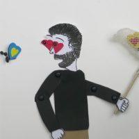 Kunstprojekte: Stop Motion - chasing love